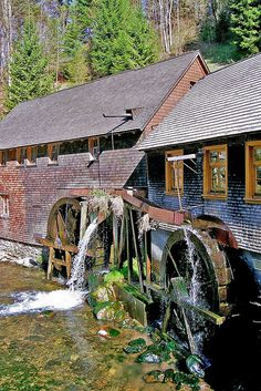 ღღ Water Mill Hexenlochmühle (still in use) Black Forest - Germany