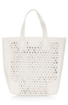 Topshop Daisy Cutout Tote Bag available at #Nordstrom