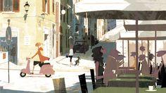 Tadahiro uesugi - tiphaine-illustration by uesugi tadahiro и Inspiration Art, Art Inspo, Art Simple, Art Et Illustration, Animation Background, Japanese Artists, Illustrations And Posters, Cute Drawings, Deviantart