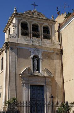 Catania, Piazza Federico di Svevia, Chiesa di San Sebastiano #catania #sicilia #sicily