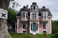 Victorian home Lunenberg, Nova Scotia