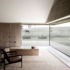 Flemish Rural Architecture - House in Zwevegem by Vincent Van Duysen Houses Architecture, Contemporary Architecture, Interior Architecture, Minimal Architecture, Arch Interior, Interior And Exterior, Interior Design, Minimalism Living, Vincent Van Duysen
