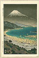 By Koichi Okada - Mt. Fuji and Nihondaira