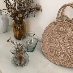 The Ticao Bag in Natural is back!