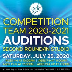 Precision Dance Center would love to have you join their growing competition family. Don't miss out this competition! #kids #summer #dance #sacramento