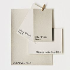 WALLS? - Farrow & Ball whites palette. Possibly lime white 1 or off white 3 ?