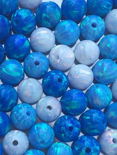 Pcs Frosted  Gemstones Jewellery Making Amazonite Round Beads 4mm Pale Blue 85