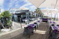 Vista exterior. Tibu-Ron Beach Club. Castelldefels