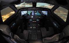 Gulfstream G550 deck