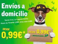 Envíos a Domicilio desde 0,99 €.