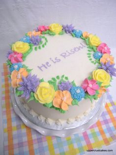 Picture of a beautiful Easter Cake!