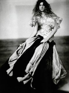Natalia Vodianova by Paolo Roversi for Vogue Italia