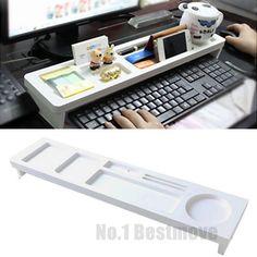 New-Office-Tidy-Multifunction-Desktop-Storage-Rack-Desk-Organizer-Holder-Shelf