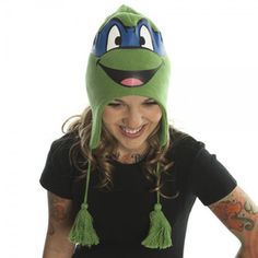 TMNT Leonardo Beanie now featured on Fab.