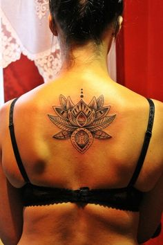 Lotus flower Tattoo - http://16tattoo.com/lotus-flower-tattoo/