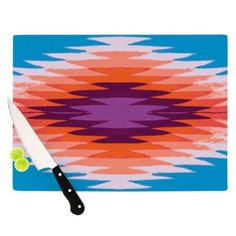 68 x 80 KESS InHouse Sylvia Cook Boho Hearts Coral Pink Orange Wall Tapestry