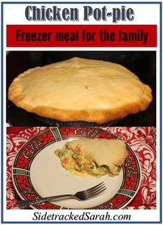 Chicken Pot Pie (Freezer recipe)