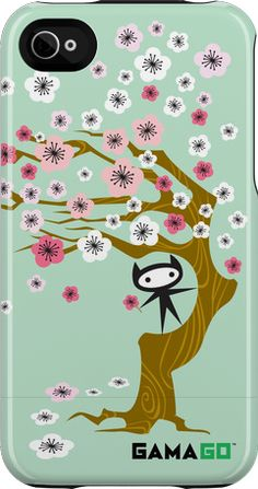 Blossoms iPhone case. By Gamma Go. Love the colors and design. $40.