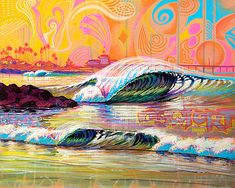 Patrick Parker | COTW Surf Artist
