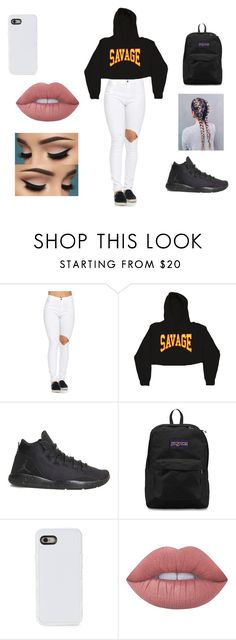 """""""idk"""" by danielarod559 on Polyvore featuring NIKE, JanSport, LMNT and Lime Crime"""