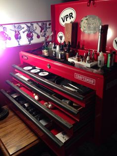 Craftsman vape tool chest to hold all of your mods!