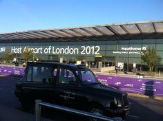 2012.09.07 런던 히드로 공항 - 업무를 마치고 모스크바 이동    블랙캡과 영국. 그리고 청명한 가을날