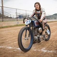Brittney Olsen. She said: I dream of this place every night and when I wake up I am filled with happiness because I am working my hardest to save my dreams. It has been an incredible adventure and this journey I am on is all beginning to make sense. It's 20th Century Racings mission to aim high and preserve the magnificent American motorcycle racing history through my antique motorcycle racing.
