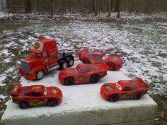 Disney Pixar Cars Diecast Rust Eze 95 Car Mack Truck Semi Lot Of 5 #Disney