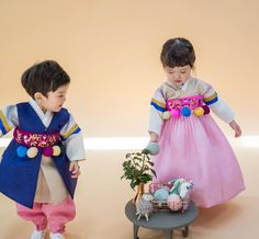 한복 hanbok : korean traditional clothes dress cool kidz on the block. Korean Traditional Dress, Traditional Clothes, Traditional Fashion, Korean Dress, Korean Outfits, Winter Fashion Outfits, Kids Fashion, Korean Fashion Pastel, Cool Kidz