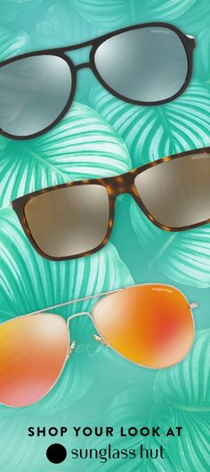When picking a favorite is impossible, just go with all three. You'll be ready for every summer festival, rooftop bbq and poolside party that comes your way.