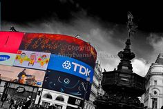 Piccadilly Circus London West End England photograph picture poster print photo #piccadillycircus #westend #art #photography