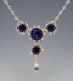 Cindy Holsclaw Diamond-O Chain Bead Origami: Annular O Necklaces