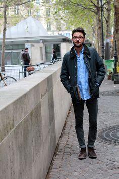 Street Tailors: Looking At Pompidou