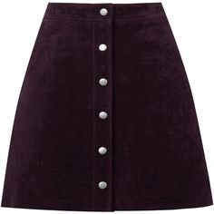 Warehouse Suede A Line Skirt (2.550 RUB) ❤ liked on Polyvore featuring skirts, mini skirts, bottoms, faldas, purple, shorts/skirts, a line mini skirt, warehouse skirts, purple skirt and a-line skirt