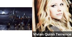 Name: Vivian Quinn Terrence Birthday: August 30, 1980 Status: Pureblood House: Slytherin Appearance: Platinum blonde hair, dark hazel eyes, pale skin, tall (5 ft 10 1/2 inches), super skinny BF: Draco Malfoy Good friends: Draco, Pansy, Crabbe, Goyle, all of the Slytherins BFF: Pansy Parkinson Enemies: Harry, Ron, Hermione, Ginny, Neville, Luna, Dean, Seamus, Cho, Cedric, Fred, George, Luna...