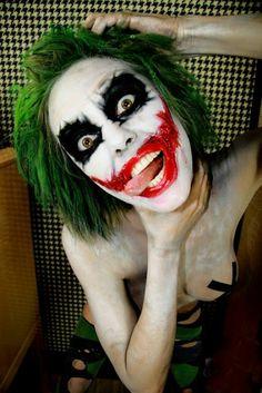 Female joker.   My Geekiness   Pinterest   Female joker, Joker and ...