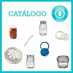 Conoce los productos disponibles en Jars & Lids -  Mason Jars Puebla