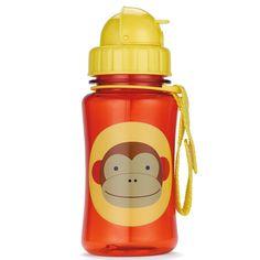 Esta Garrafinha infantil Macaco Zoo Skip Hop é super prática e divertida. Ela tem c...