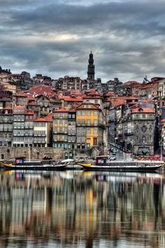 view of Porto from the other side of the Douro river, Portugal Spain And Portugal, Portugal Travel, Wonderful Places, Beautiful Places, Beautiful Streets, Places To Travel, Places To See, Travel Around The World, Around The Worlds
