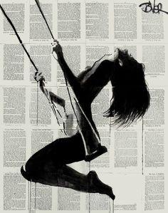 "Saatchi Art Artist Loui Jover; Drawing, ""being again"" #art"
