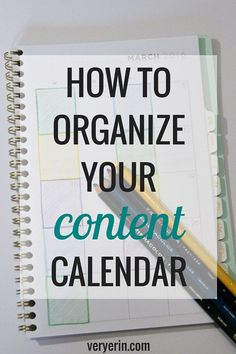 How to Organize Your Content Calendar | Blogging and Business - Very Erin Blog | @michaelsstores #relaxandcolor #coloringwithmichaels #Pmedia #ad