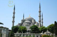 Urandir-Mesquita Azul em Istambul - Turquia Turkey Travel, City Break, Places Ive Been, Taj Mahal, Photo Galleries, Building, Istanbul Turkey, Bucket, Spaces
