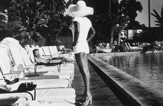 Poolside  the BHH, 1975