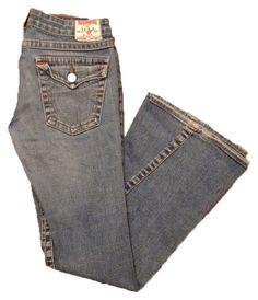 True Religion Flare Leg Jeans. Get the lowest price on True Religion Joey Flare Leg Jeans and other fabulous designer denim styles! Shop Tradesy now