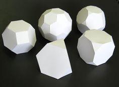 download geometric shape templates