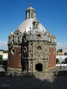 Capilla del Pocito, Guadalupe Shrine, Mexico City