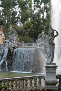 Torino - Fontana dei Dodici Mesi,Parco del Valentino, Città di Torino