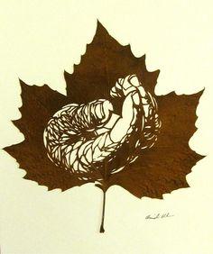 Si étant enfant nous aimions ramasser les feuilles mortes, Omid Asadi n'a lui…