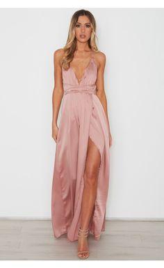 Akela Maxi Dress Dusty Pink