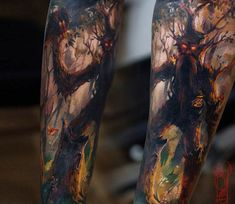 Ent tattoo by Tymur Denysenko